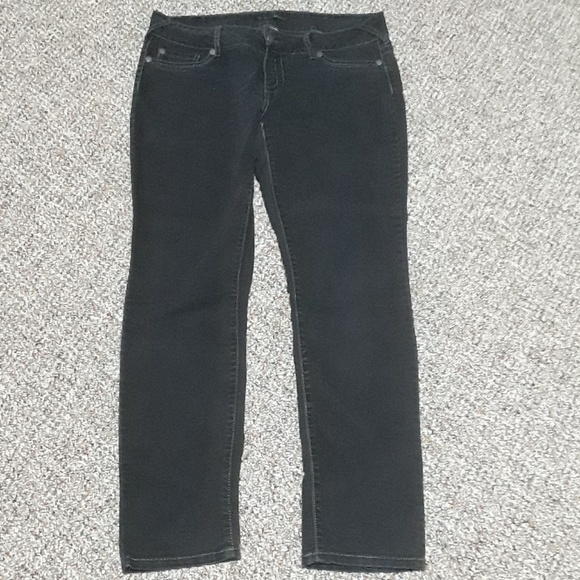 7d265212bc287 Maurices Jeans | Faded Black Jeggings | Poshmark